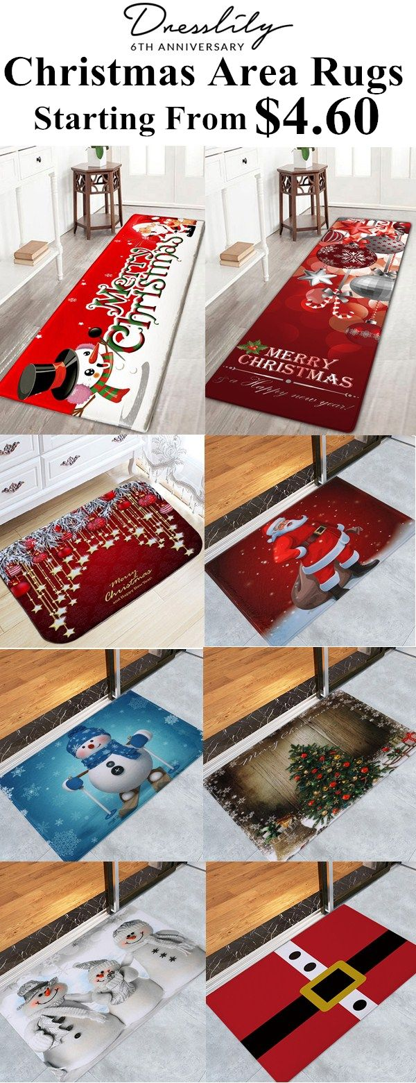 Only 4 60 For Christmas Area Rugs Christmas Snowman And Santa Claus Print Nonslip Flannel Bath Mat Dres Christmas Rugs Cheap Christmas Crafts Christmas Deco