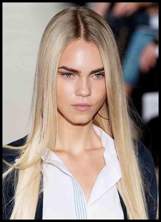 Frisurentrends 2015 Straight Look Fur Lange Haare Bilder Madame