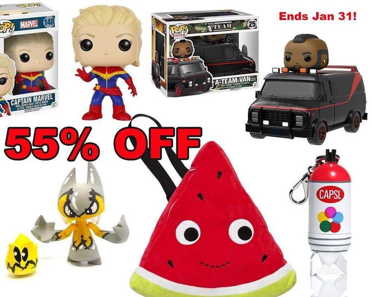 Final days of our big ass Clinical Clearance sale!!! Sign up for our email list and we will send you a discount code good for 55% off a whole mess of items that are a part of our Clinical Clearance section.  Don't sleep. All prices return to normal SRP on Feb 1. Email list is located in footer of tenacious.toys website. #discount #clearance #toys #funko #funkopop #yummyworld