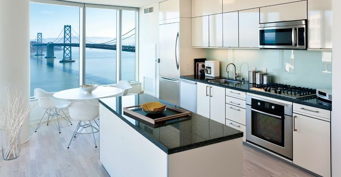 The Infinity Luxury Residences // San Francisco, CA feature luxury Bosch and Thermador appliances