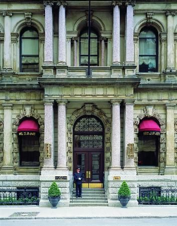 Hotel Le St. James. The ultimate luxury hotel set in a restored 1870 Merchants' Bank building in Old Montreal.