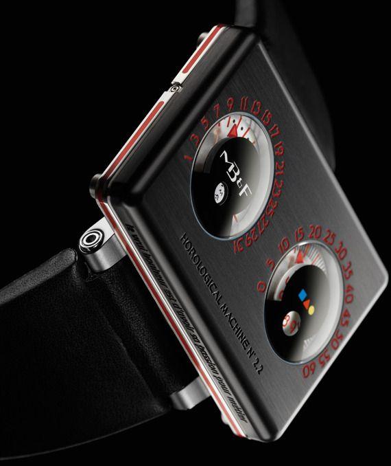 "MBandF And Alain Silberstein HM2.2 ""Black Box"" Watch"