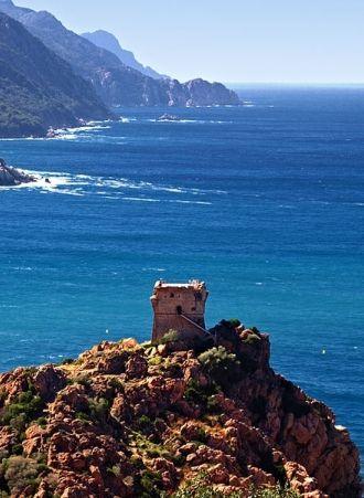 Le Golfe de Porto en #Corse : un site du patrimoine mondial