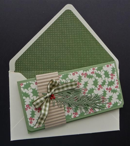 Lovin' This Envelope Maker! by MarianneLamb - Cards and Paper Crafts at Splitcoaststampers Gift Holder