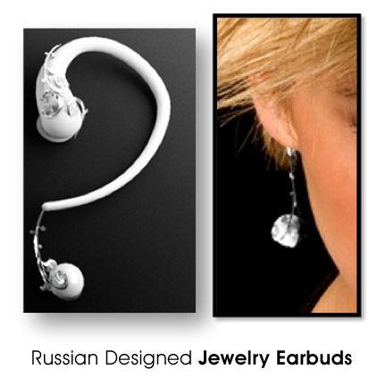 Earphone Earrings #fashion #technology