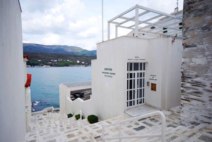 Goulandris Museum of Modern Art, Andros, Greece