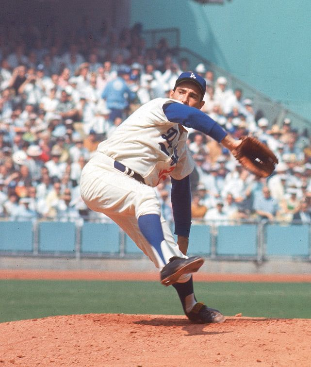 Sandy Koufax - Los Angeles Dodgers - 1966 World Series-one of my favorite baseball players from my childhood!