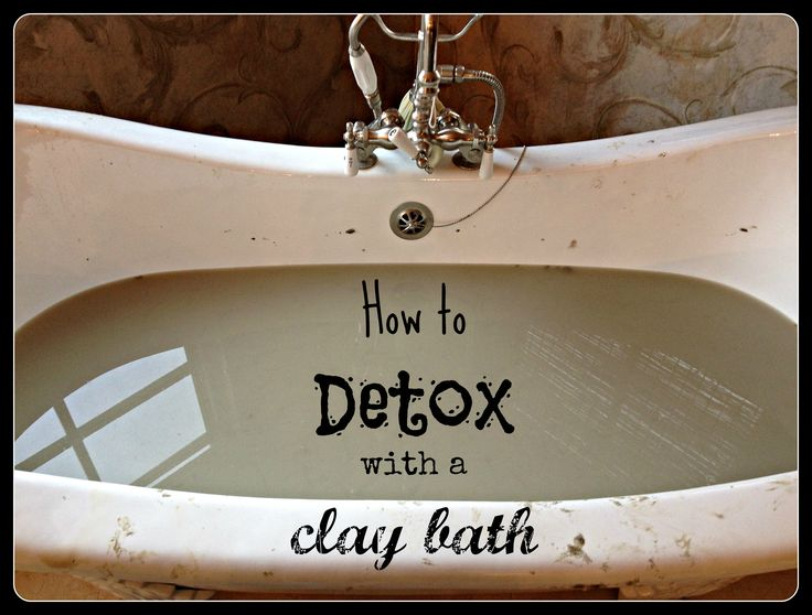 How can you incorporate clay into you life today? / @gutsy / http://www.mygutsy.com/how-to-detox-with-a-clay-bath/