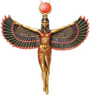 """isis was the daughter of Geb and Nut (Sky and Earth). She married Osiris and the had Horus.  Image Source: """"Isis: From Goddess to Terrorist State. What's in a Name? Update: From Isis to Daesh?"""" Glossophilia. N.p., n.d. Web. 03 May 2016. <http://www.glossophilia.org/?p=7247>."""