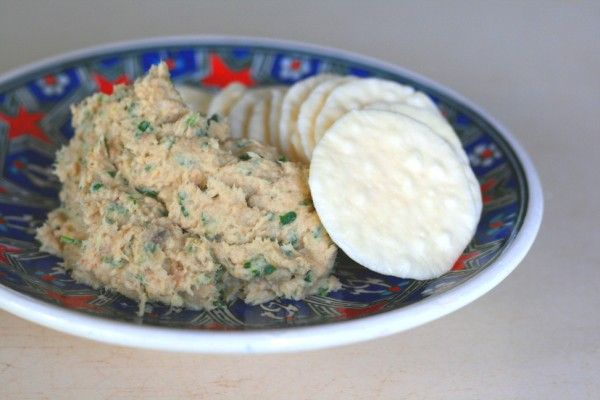 Tuna Dip - The high protein, low fat Thermomix version
