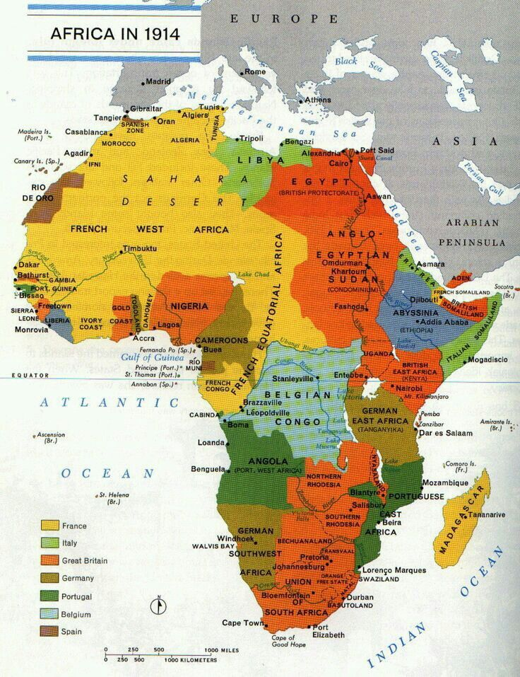 Map Of Africa Today.1914 Afrikayi Isgal Eden Ulkeleri Haritasi Africa Today And