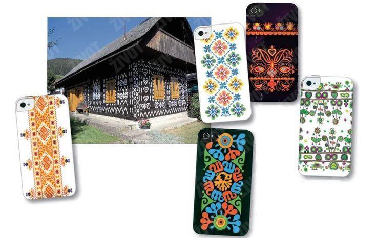 Dizajn inšpirovaný výšivkami (zľava) z obcí Čičmany, Bogliarka, Jablonica, Nižné Repaše a vajnorská výšivka.