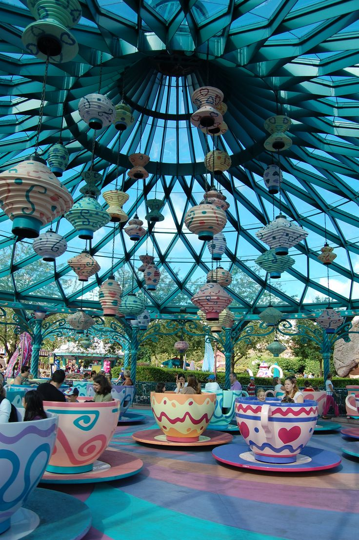 Tea Cups - Disney Paris
