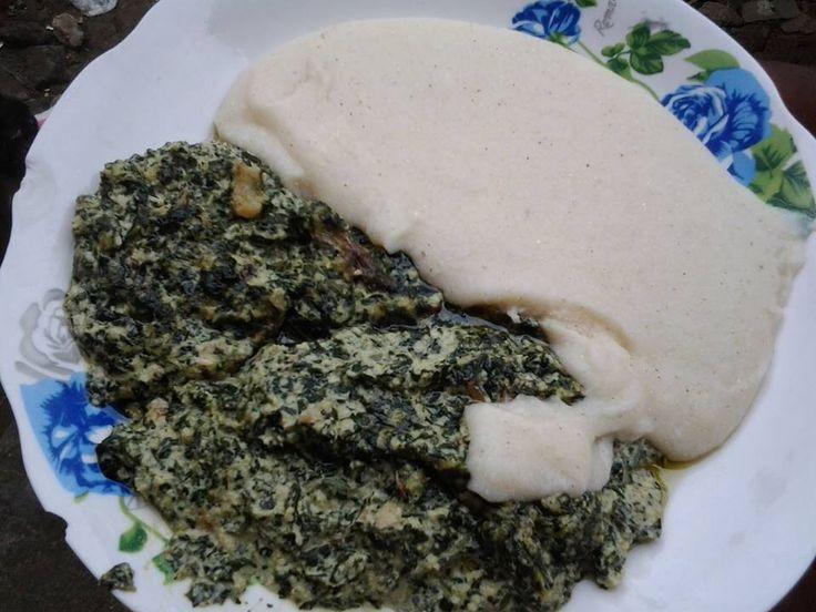 Couscous ndole cameroun food goals pinterest - Comment cuisiner les bananes plantain ...