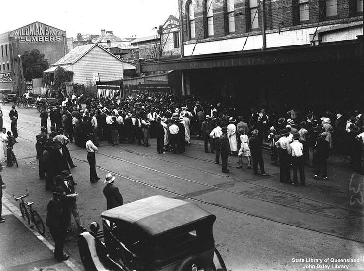 The great depression dates in Brisbane