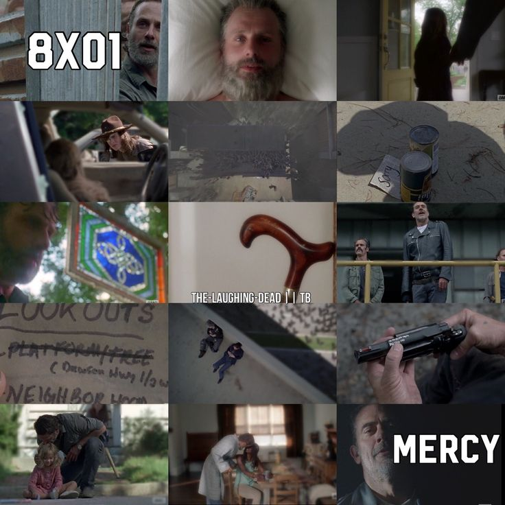 The Laughing Dead (The Walking Dead || Season 8 Episode 1 || Mercy)