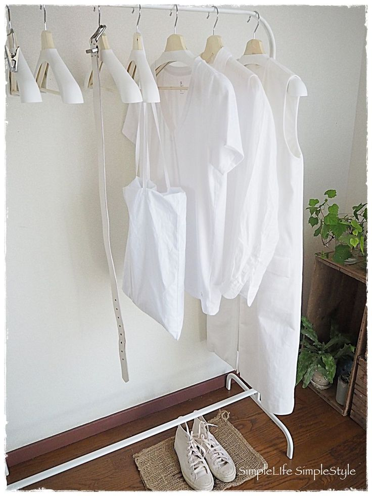 My Closet 〜 IKEAのハンガーラック de 見せる収納方法のメリット ... P8154103クローゼット
