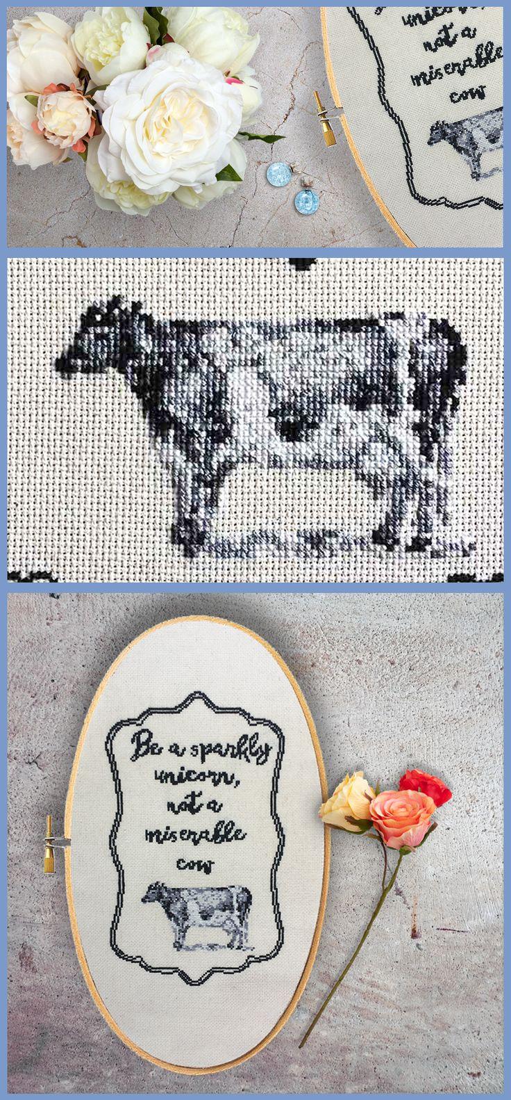 Customer favorite! Subversive modern cross stitch