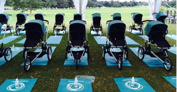 The new Bugaboo Runner launched at Sydney's Centennial Park #Bugaboo, #Prams, #SponsoredPosts