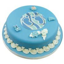 Baby Junge CK-404  https://www.cake-company.de/de/tortendeko/motivtorten/baby/geburt/taufe/baby-junge-ck-404.html