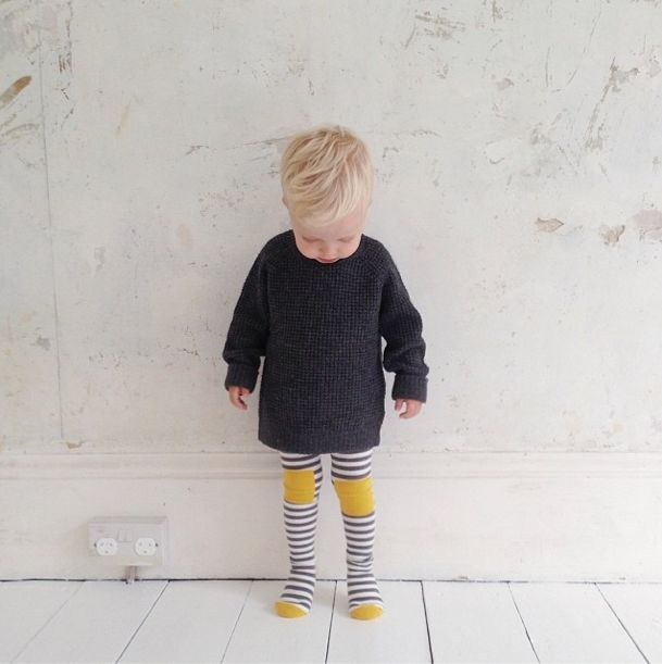 A gorgeous shot of our Little Titans Sunshine Stripe tights by Annabel_G on instagram, via www.breathehappiness.co.uk #boystights #babytights #kidstights