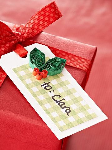 Best 25 holiday gift tags ideas on pinterest christmas tag diy make a berry happy holiday gift tag negle Images