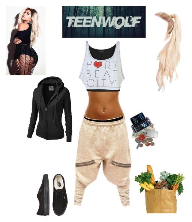 """(Teen wolf)"" by guadalupe-pablo on Polyvore featuring NIKE, Vans, J.TOMSON and plus size clothing"