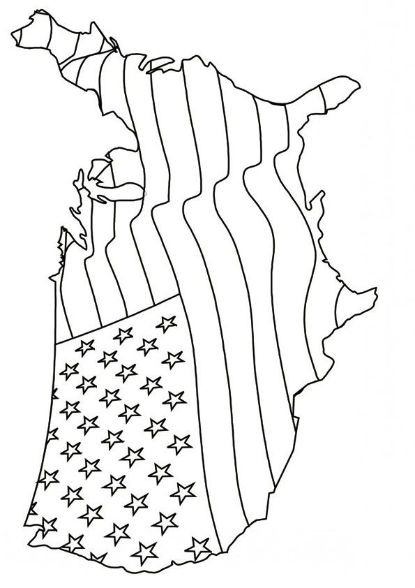 Print Coloring Image 4th Of July Coloring Pages Free Printable 4th Of July Coloring Pages For Kids For 4t Coloring Pages Coloring Pages For Kids July Colors