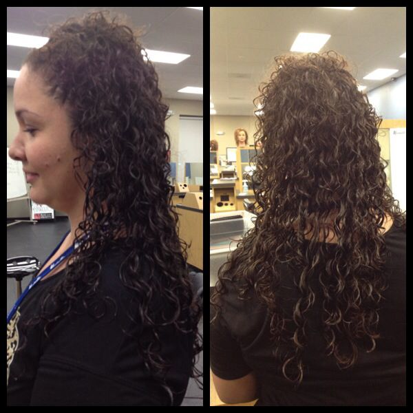 Spiral Perm On Long Hair Styles Pinterest Perms With Regard To Right Hs