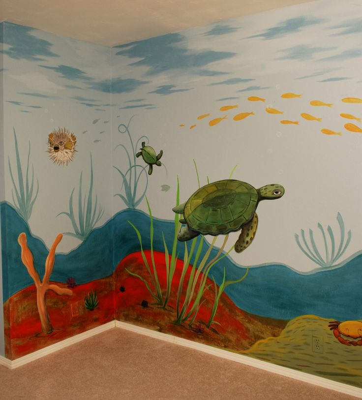 Wall murals for kids