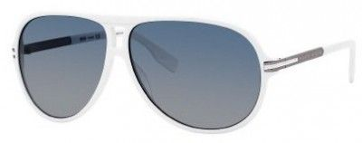 Óculos Hugo Boss Men's 0398PS Sunglasses White Dark Ruthenium #Oculos #HugoBoss