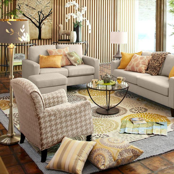 pier 1 living room rugs%0A Maysa Pinwheel Rug  Yellow   Pier   Imports