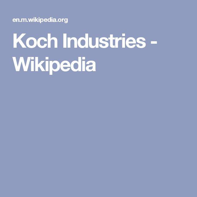 Koch Industries - Wikipedia