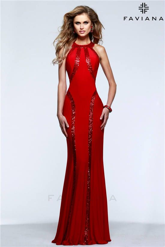 Prom red dress 99421
