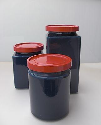 Arabia Finland Kaj Frank 1960's Storage Jars