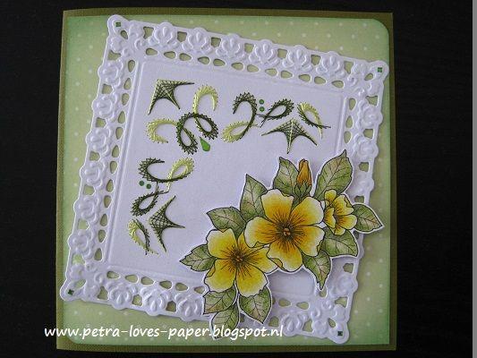 http://petra-loves-paper.blogspot.nl/2015/09/gele-bloem.html, Beccy's Place, Sjaak van Went