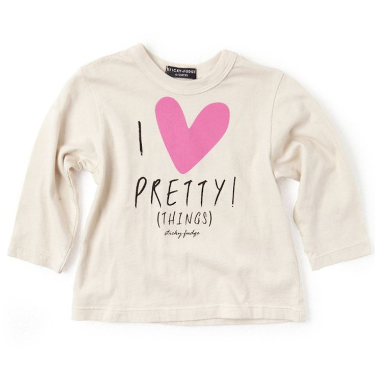 Tee - Janet Pink Pretty - Clothing - girls - Baby Belle