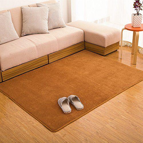 Ustide Kahiki Rugs Coral Fleece Rug For Livingroom Memory Foam Rugs Set  Solid Bedroom Carpet Modern