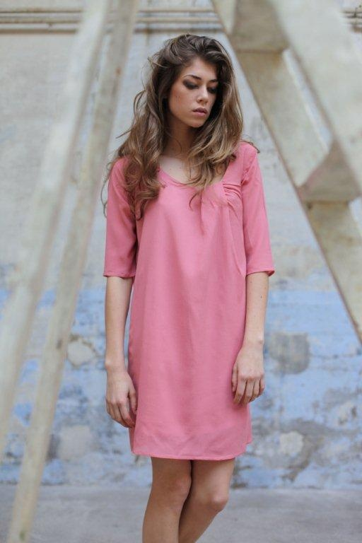 Robe rose Lorafolk $272,18 sold by lorafolk on Subtill.com. Follow lorafolk : http://www.subtill.com/lorafolk