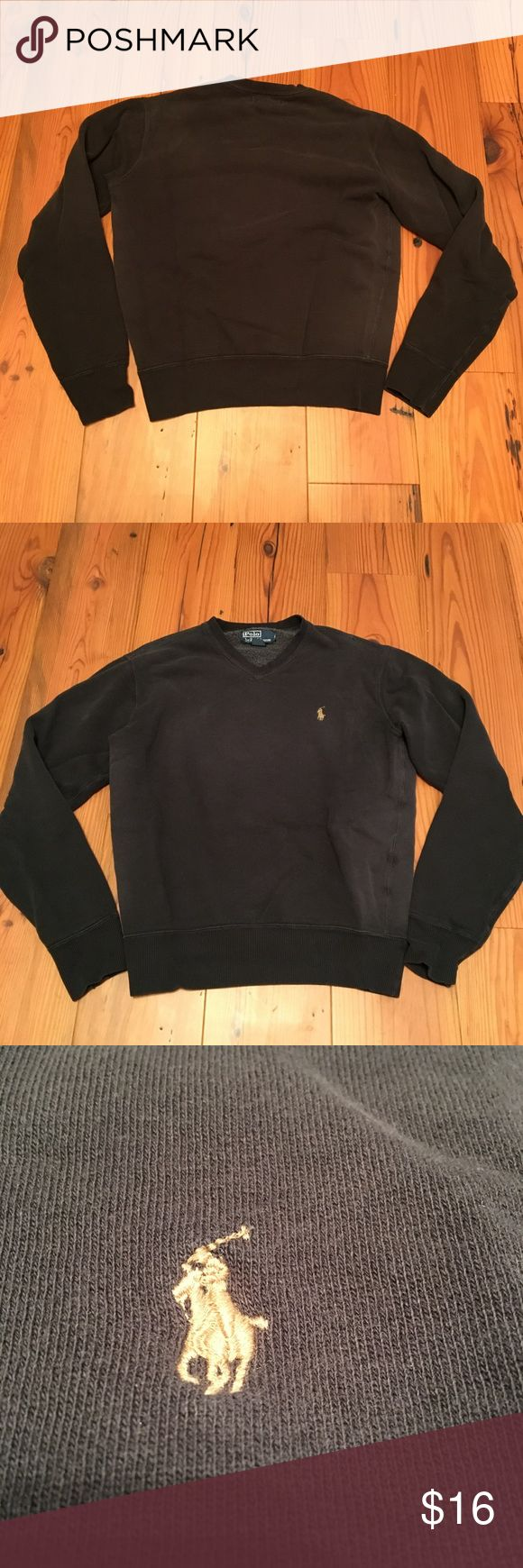 Men's Polo Ralph Lauren Sweatshirt Gray S Polo Ralph Lauren Sweatshirt. In gently worn condition. Dark gray with tan pony logo. Size small. Please contact me with any questions. Thank you for looking! 😃 Polo by Ralph Lauren Shirts Sweatshirts & Hoodies
