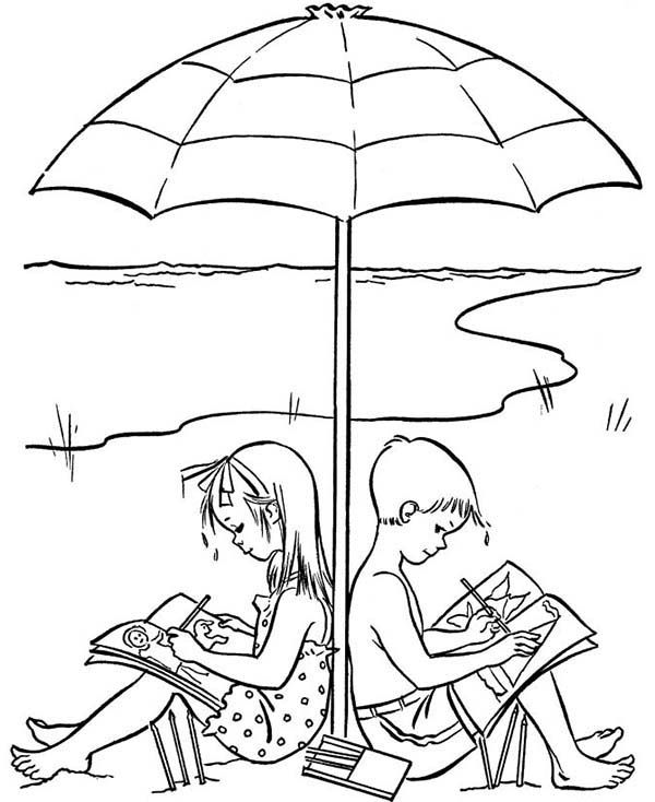 Image Associee Beach Coloring Pages Summer Coloring Pages Coloring Pages For Kids