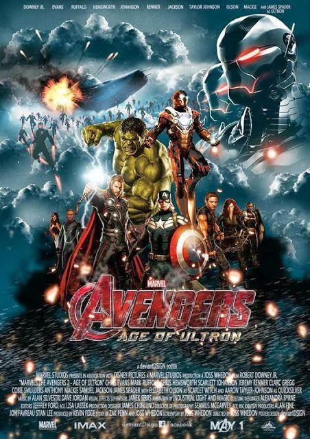 Os Vingadores: A Era de Ultron | Vaza teaser exibido na Comic-Con e D23 | LOUCOSPORFILMES.net