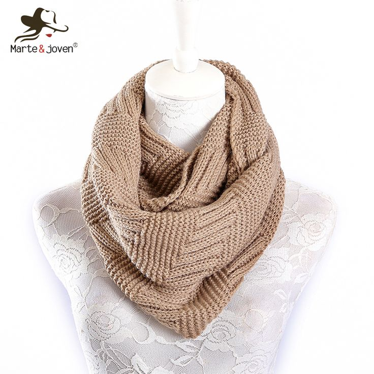 Acrylic Ring Scarf for Women for Winter