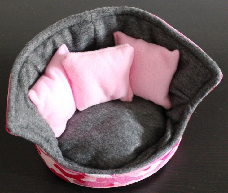 Pink and grey camo cuddle cup. Pet sofa. Hedgehog and small guinea pig bed. Pet…