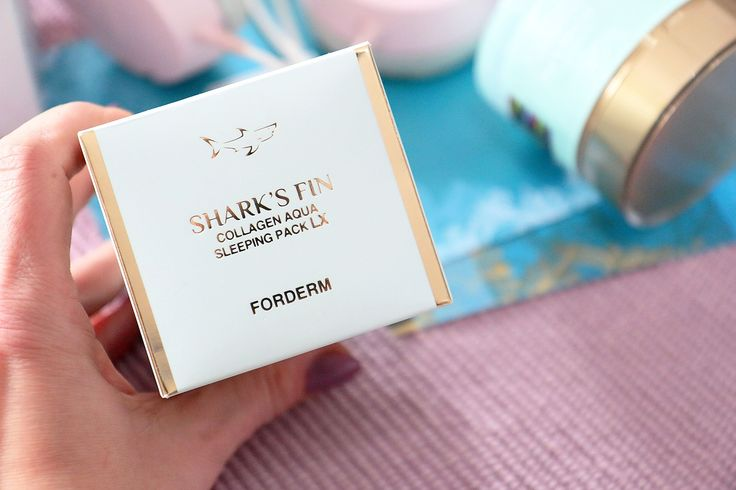 FORDERM night gel mask, without rinsing