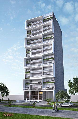 Departamentos de 3 dormitorios con vista al Golf en la zona más exclusiva de San Isidro, con una moderna fachada diseñada por el prestigioso estudio de arq...