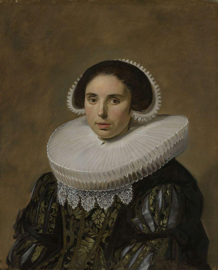 Portrait of a woman, Frans Hals, ca. 1635