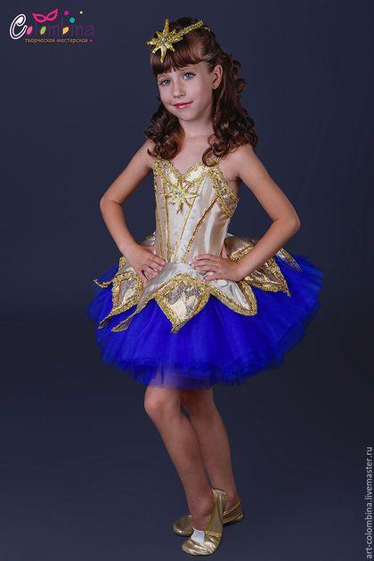 Купить или заказать Костюм звезды в интернет-магазине на Ярмарке Мастеров. карнавальный костюм звезды для девочки комплектация: платье, диадема 134-146+300 рублей чешки продаются…
