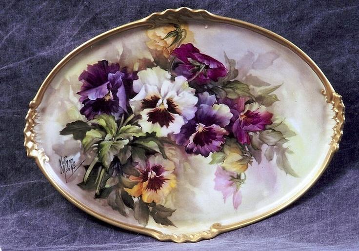 Painted China   Brenda Morgan-Moore   Porcelain Artists   China Painting Supplies