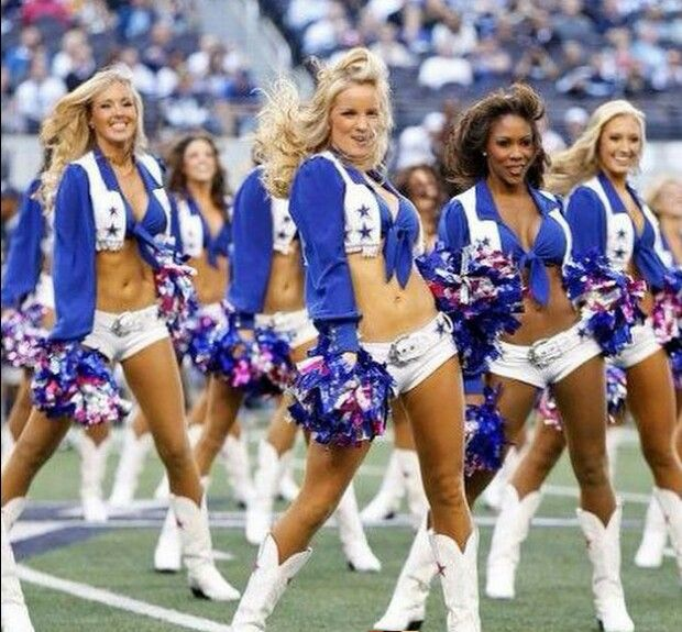 Our world famous cheerleaders :)))